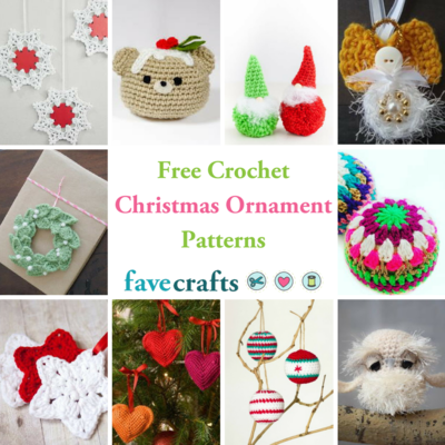 Free Crochet Christmas Ornament Patterns