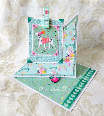 Happy Everything DIY Twisted Easel Card