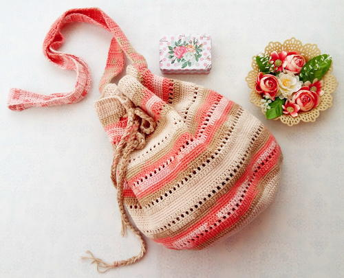 Seaside Crochet Handbag