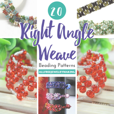 20 Right Angle Weave Beading Patterns