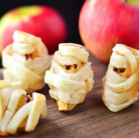 Apple Pie Mummy Slices