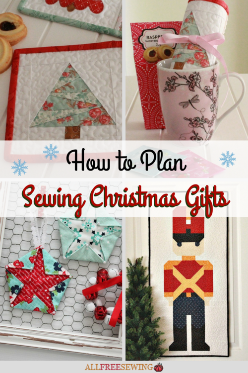 How to Plan Sewing Christmas Gifts