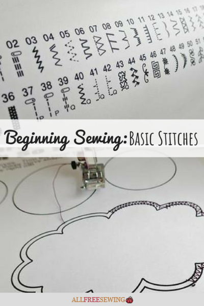 Beginning Sewing Basic Stitches