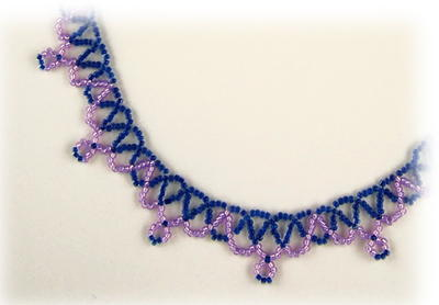 Crystal Net Weave Necklace