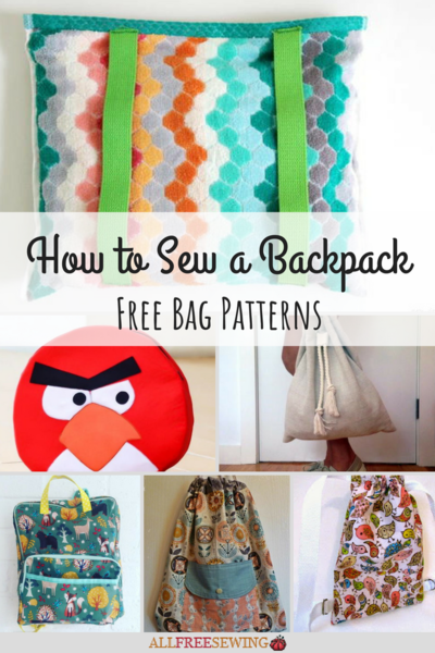 How to Sew a Backpack: 19 Free Bag Patterns