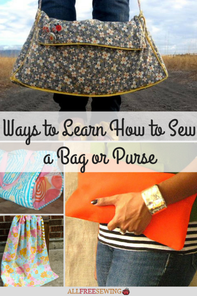 6 Ways to Learn How to Sew a Bag or Purse