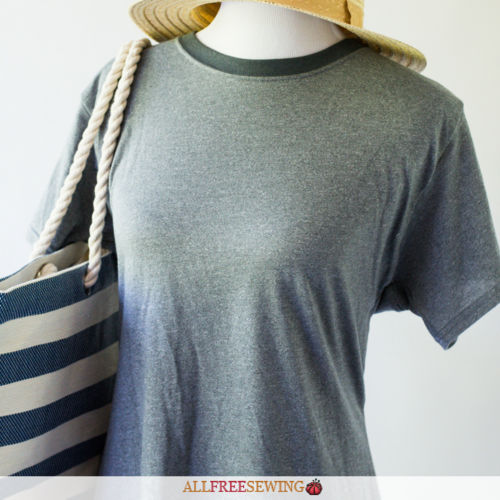 Sew Easy T-Shirt Refashion Video Tutorial