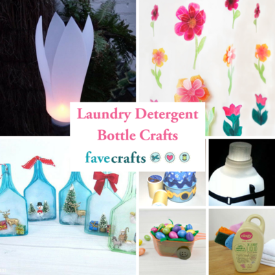 12+ Laundry Detergent Bottle Crafts