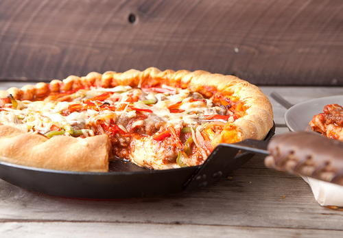 Copycat Chicago Deep Dish Pizza Recipe