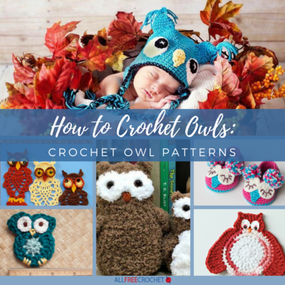 4f97dd682 How to Crochet Owls: 58 Crochet Owl Patterns | AllFreeCrochet.com