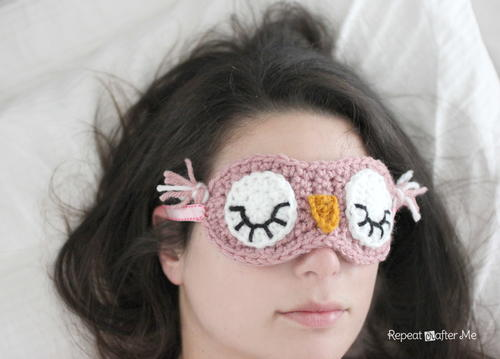 Sleepy Owl Mask