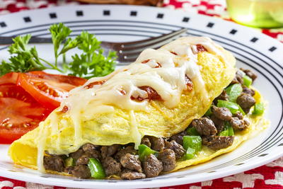 Saucy Pizzeria-Style Omelet
