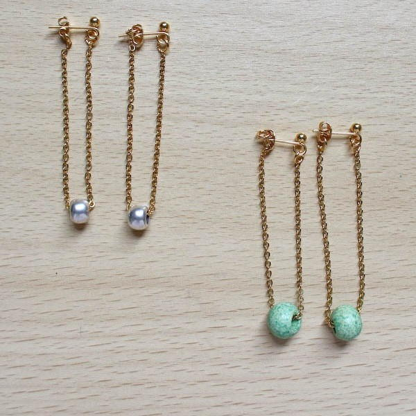 5-Minute Chain Earrings