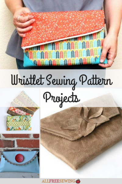 12 Wristlet Sewing Pattern Projects