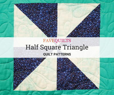 Half Square Triangle Quilt Patterns