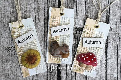 Easy Fall Gift Tags