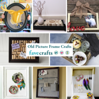 15 Old Picture Frame Crafts
