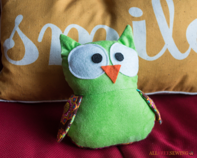Soft and Sweet Owl Plushie Pattern Video Tutorial