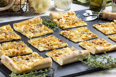 Parmesan Onion Board