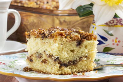 Back-to-Basics Coffee Cake