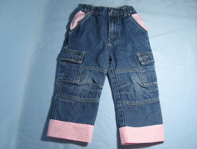 How to Lengthen Kids Jeans