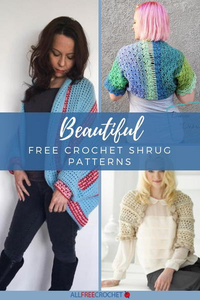 8ef974539 42 Free Crochet Shrug Patterns