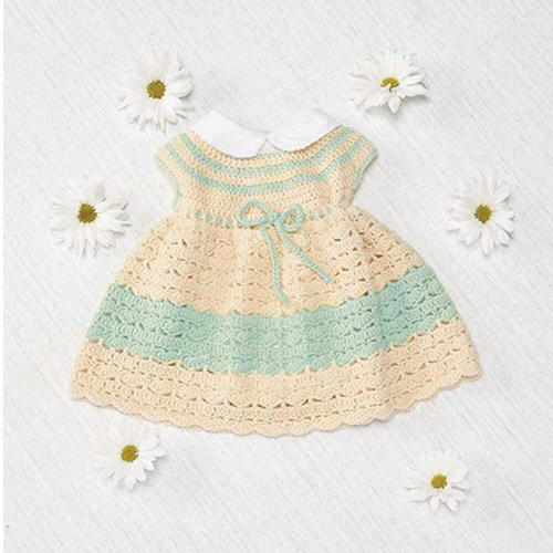 Infant Crochet Easter Dress