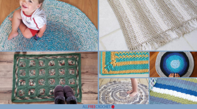26 Creative Crochet Rug Patterns