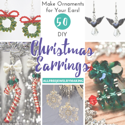 Make Ornaments for Your Ears 50 DIY Christmas Earrings