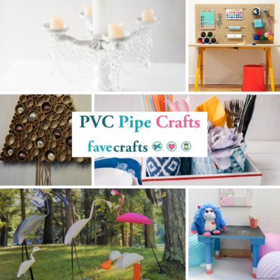 23 PVC Pipe Crafts