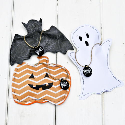 Fun Halloween Treat Bags in 3 ways