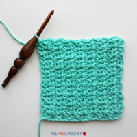 Spider Stitch Crochet (Free Tutorial)