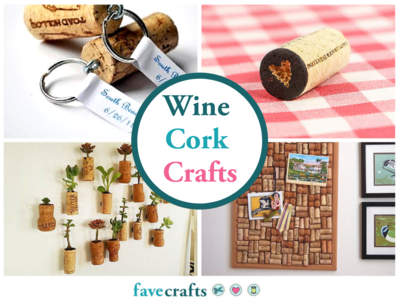 Whimsical Wine Cork Crafts