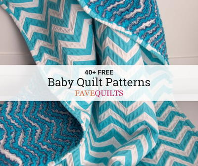 40+ Free Baby Quilt Patterns | FaveQuilts com