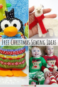 47+ Free Christmas Sewing Ideas