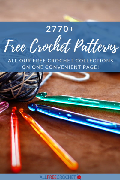 2770 Free Crochet Patterns