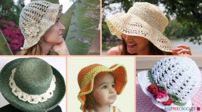 41+ Crochet Summer Hat Patterns