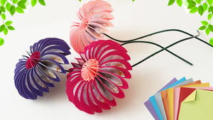 Different Types of Pretty Origami Flowers | 169x300