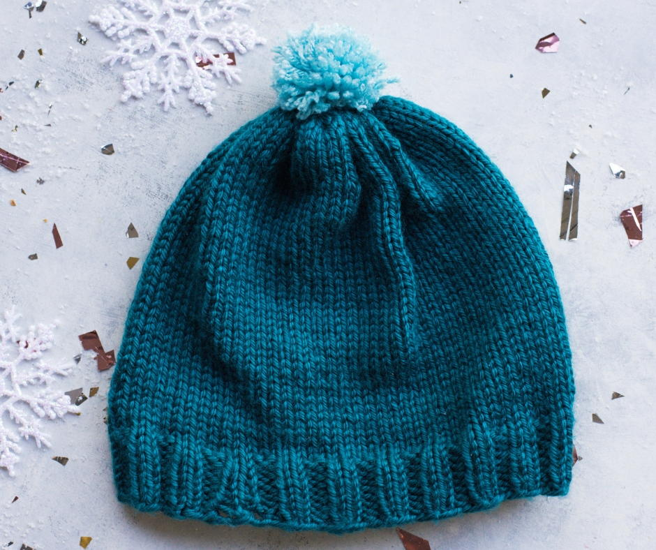 How To Knit A Hat Allfreeknitting Com