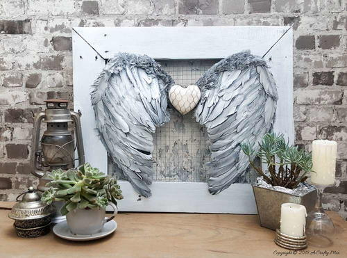 Angel Wings DIY Wall Decor
