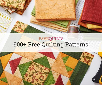 900+ Free Quilting Patterns | FaveQuilts com