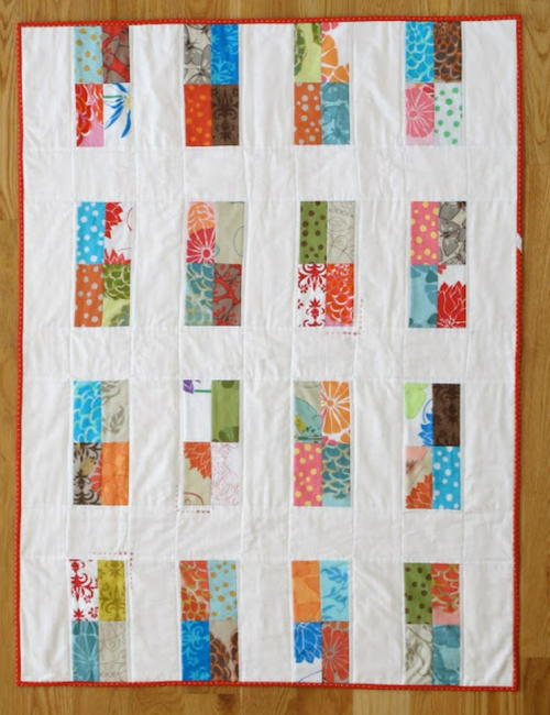 Little Windows Baby Quilt