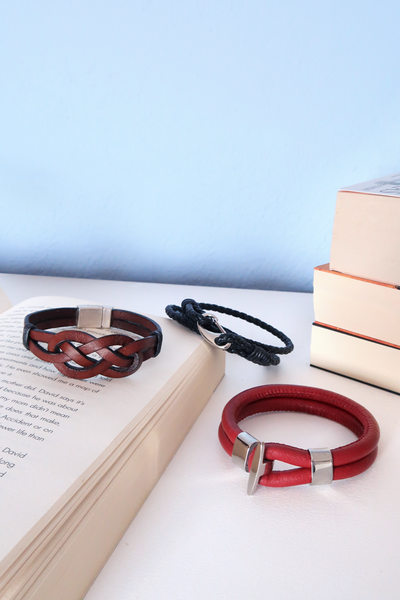 DIY Leather Bracelets for Guys