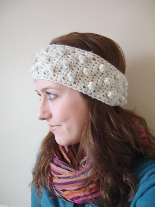 Bobble Headband Pattern