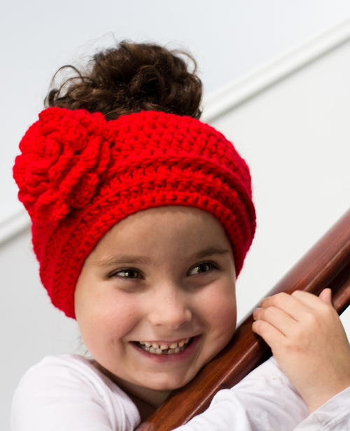 Rosy Red Headband