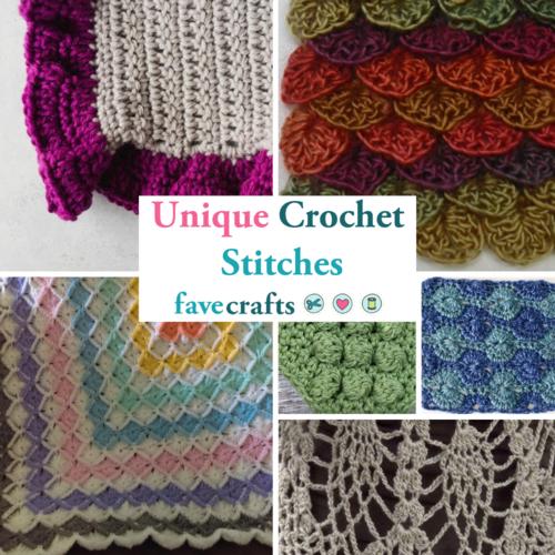 15 Unique Crochet Stitches Favecrafts Com