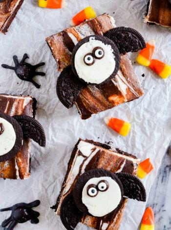 Spooky Bat Brownies