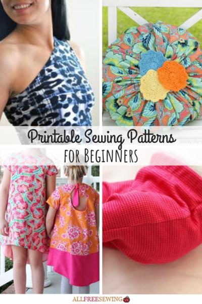 image regarding Printable Sewing Pattern identified as 40+ Printable Sewing Models for Newbies