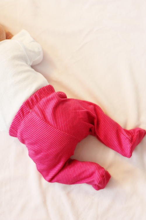 Cuddly Cute Baby Pants Pattern