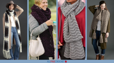 9 Best Super Scarf Crochet Patterns